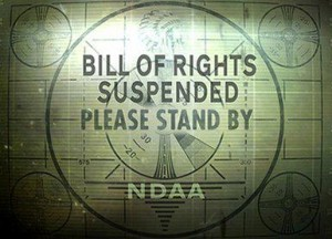 Bill of Rights Now Suspended
