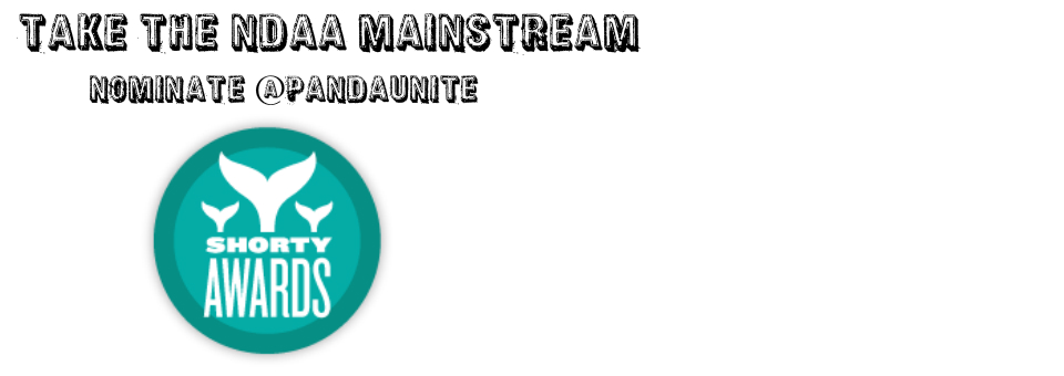 Take NDAA Mainstream: Vote @PandaUnite for the Best in #activism